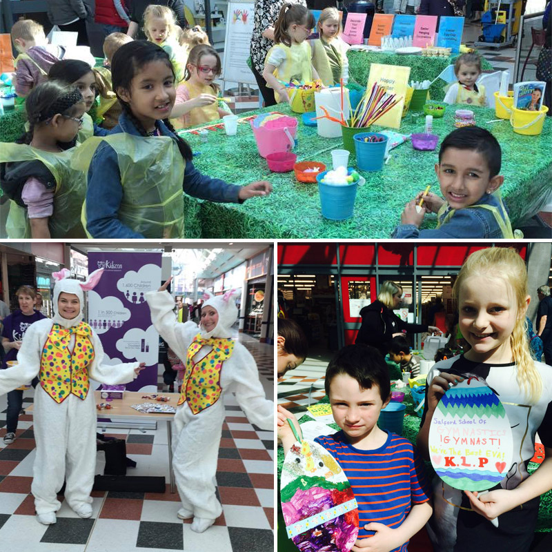 Shoppers Get Crafty at Salford Shopping Centre