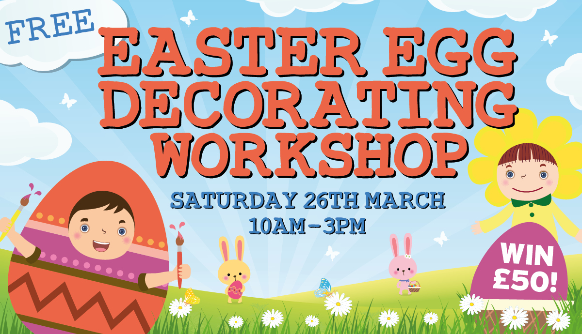 FREE Egg Decorating Workshop