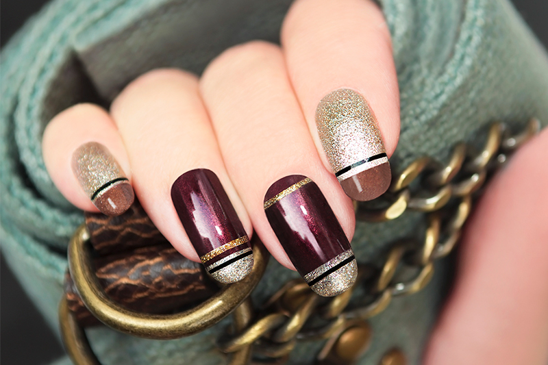 5-stunning-nail-design-ideas-glitter-gold